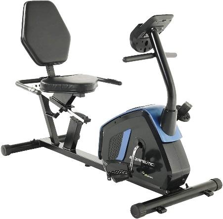Exerpeutic Easy Step Thru Magnetic Recumbent Exercise Bike 4121