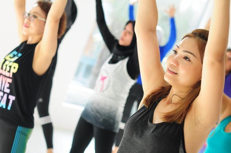 Girls Fitness Session